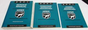 2001 Dodge Viper Service Shop Repair Manual and Diagnostic Procedures