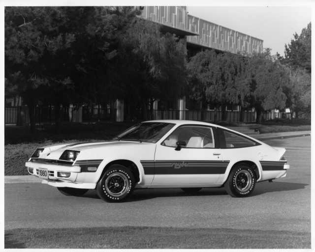 1980 Chevrolet Monza Spyder Factory Press Photo 0161