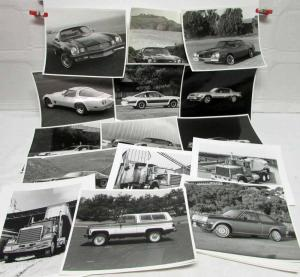 1980 Chevrolet Factory Press Photos and Color Transparencies Collection