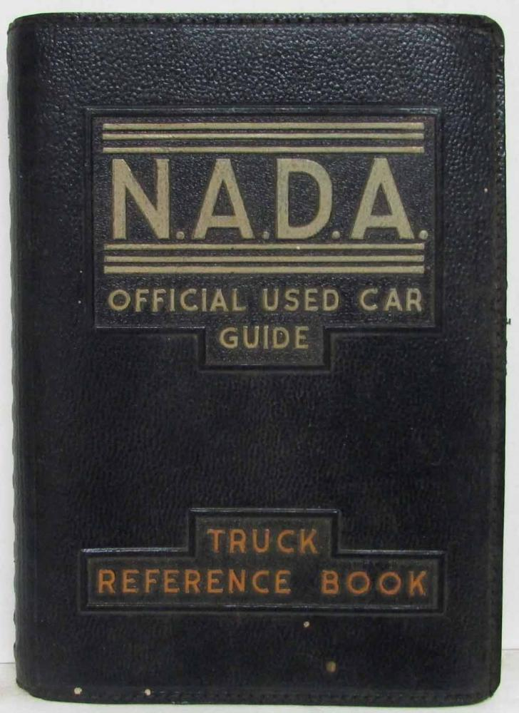 1951 NADA Official Used Car Price Guide - Truck Reference Book 2nd Edition