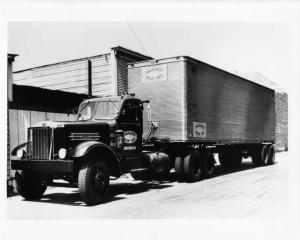 1941 Sterling Consolidated Freight Lines Tractor Trailer Press Photo 0007