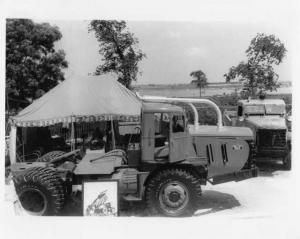 1948 Walter Diesel Truck w/ Goodyear Tires Press Photo 0001