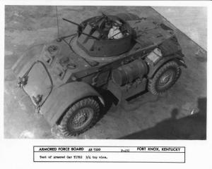 1943 Chevrolet Armored Car T17E2 Staghound Press Photo 0187