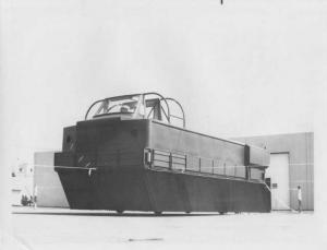 1957-1958 Ford Military Experimental Hover Craft Vehicle Press Photo 0188