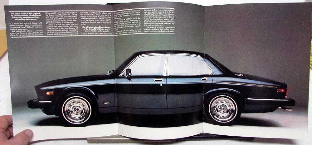1980 Jaguar Dealer Sales Brochure XJ6 & XJ12 Series ...