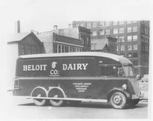 1939 Available Delivery Truck w Hendnrickson Axle Press Photo 0001 Beloit Dairy