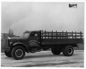 1950s Sterling Stake Truck Press Photo 0032- Gould Coupler Works