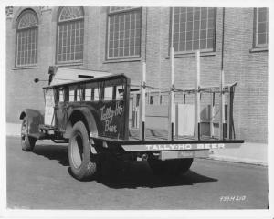 1934 Mack Stake Truck Press Photo 0123 - Tally-Ho Beer - Ridgewood