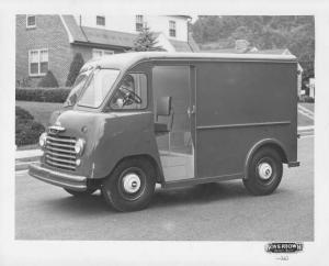1955 Chevrolet Step Delivery Truck with Boyertown Body Press Photo 0219
