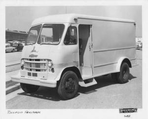 1961 Chevrolet Step Delivery Truck with Boyertown Body Press Photo 0220