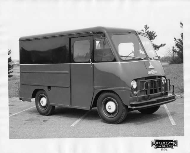 1965 Chevrolet Step Delivery Truck with Boyertown Body Press Photo 0224