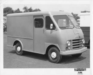 1962 Chevrolet Delivery Truck with Boyertown Body Press Photo 0229