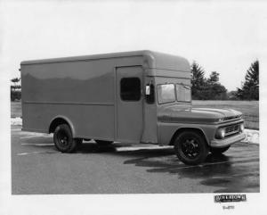 1962 Chevrolet Delivery Truck with 1963 Boyertown Body Press Photo 0231
