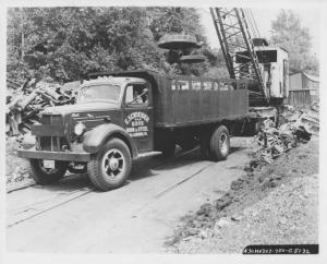 1951 Mack Model A30H Truck Factory Press Photo 0128 E Schneider & Sons