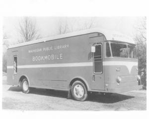 1955 Available Truck Gerstenslager Body Press Photo 0006 - Waukegan Bookmobile