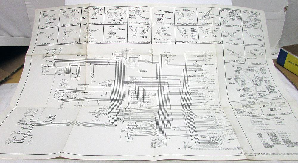 1950 cadillac wiring schematic 1964 cadillac dealer chassis wiring circuit diagram poster service  chassis wiring circuit diagram poster