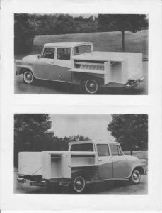 1960-1963 International Harvester Travlette Pickup with Utility Bed Press Photo