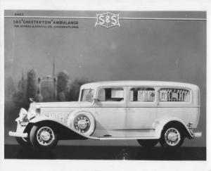 1932 S&S Chesterton Ambulance Press Photo 0001