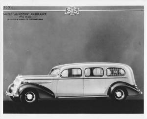 1935 S&S Abington Oldsmobile Ambulance Press Photo 0002