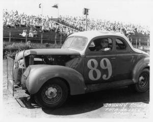 Johnny Rogers - #89 - Vintage Stock Car Racing Photo 0030