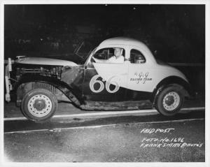 Fred Post - The G&G Racing Team - #66 - Vintage Stock Car Racing Photo 0031