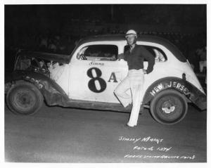 Jimmy Marks - #8A - Vintage Stock Car Racing Photo 0033
