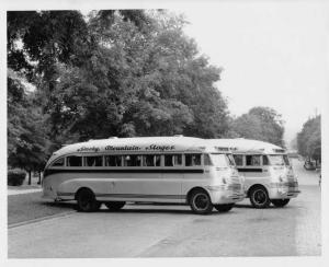 1937 Flxible Bus Coach Press Photo 0001 - Smoky Mountain Stages