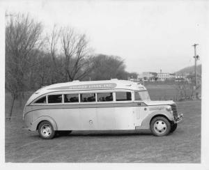 1947-1948 Flxible 20 Passenger Bus Coach Press Photo 0004 - Osgood Lines Inc