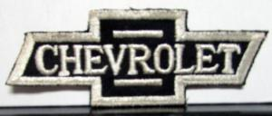 1960s 1970s Vintage Chevrolet Bow Tie Embroidered Patch Orig Corvette Camaro