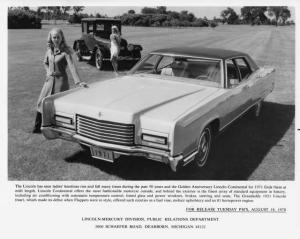 1971 Lincoln Continental Press Photo 0060