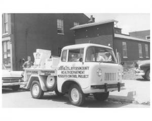 1957 Jeep FC Press Photo 0007 - Louisville Health Dept Mosquito Control Project