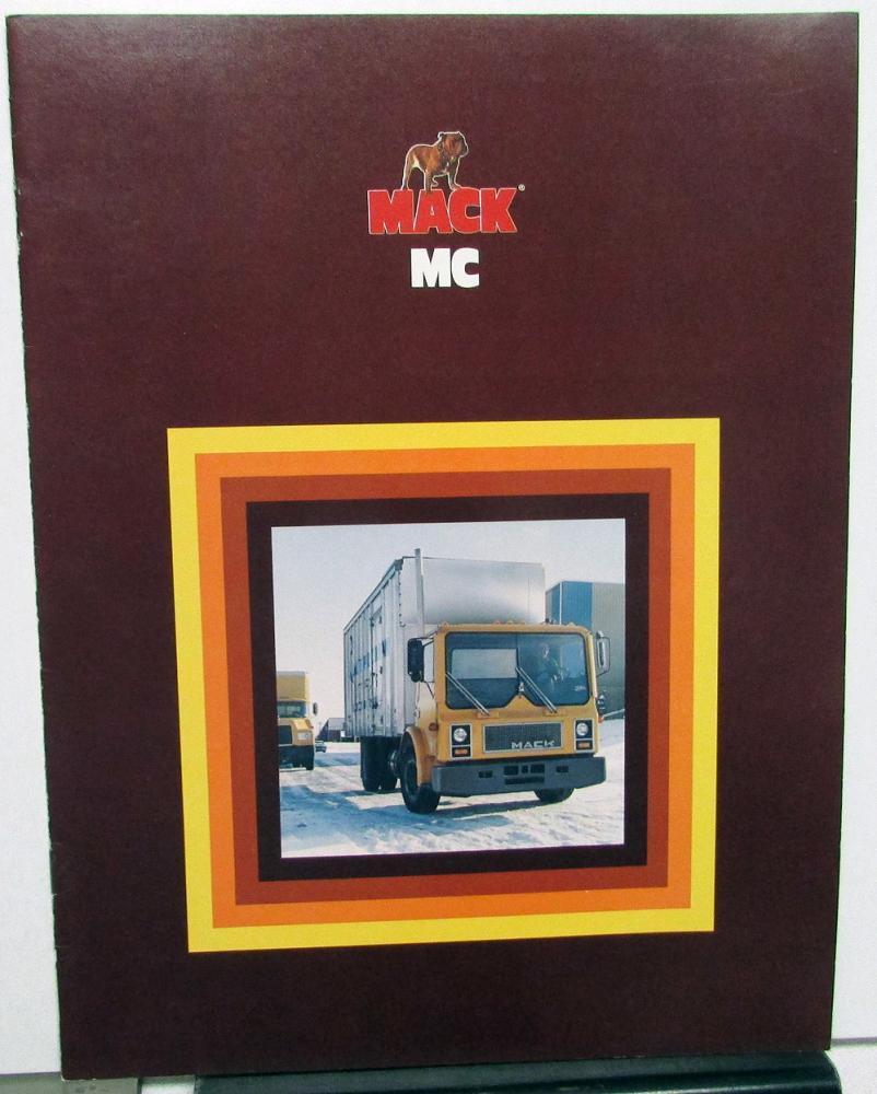 1981 Mack MC Low-Profile Cabover Trucks Dealer Sales