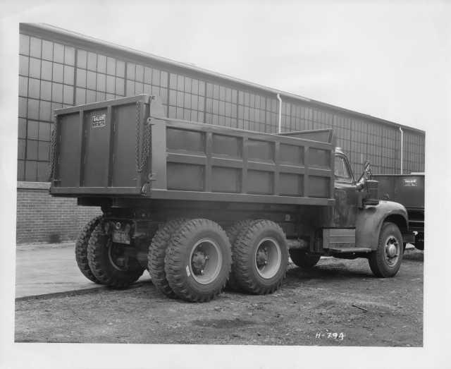 1953 Mack Truck with Galion Dump Body Press Photo 0160