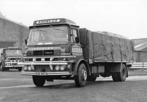 1970 ERF Type 54G 16 Ton Load Carrier Truck Press Photo & Release 0001 - Knowles