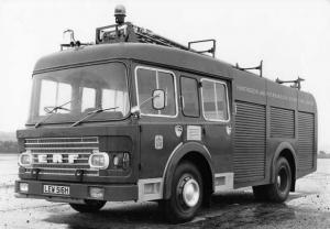 1970s ERF Fire Engine Truck Press Photo 0002