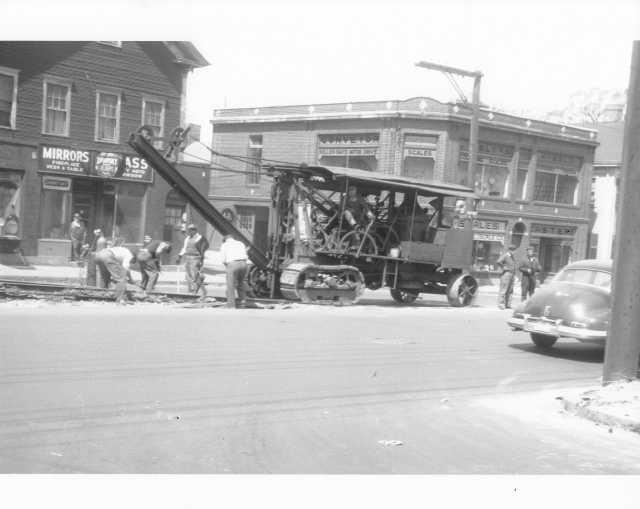1948 United Electric Railway Track Removal Truck Press Photo 0008 - Zawatsky