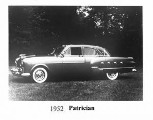 1952 Packard Patrician Press Photo 0023