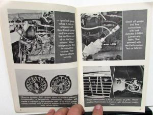 1956 Chevrolet Dealer Service Information Instructional Booklet Air-Conditioning