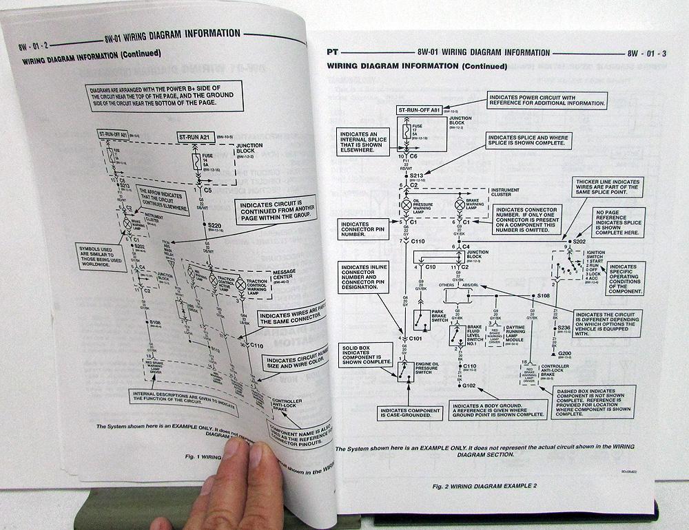 2004 Chrysler PT Cruiser Electrical Wiring Diagrams Shop ...