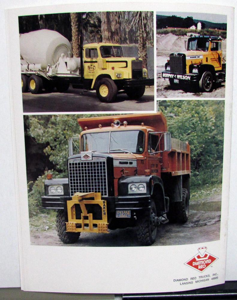 1973-74 Diamond Reo Apollo 101 Truck Dealer Sales Brochure