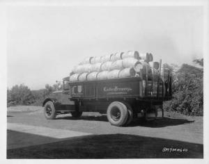 1934 Mack BM Truck Press Photo 0181 - Linden Brewery - Lindenhurst NY