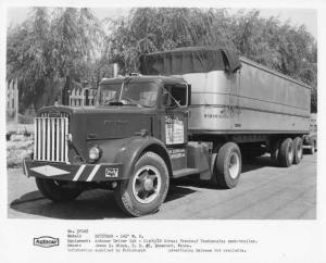 1954 Autocar DC-75 Truck Press Photo 0032 - Schreiber Trucking Co Pittsburgh PA