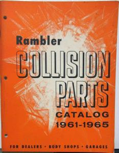 1961 1962 1963 1964 1965 Rambler Collision Parts Catalog