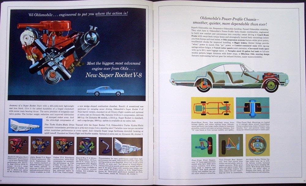 Oldsmobile Prestige Sales Brochure 98 Starfire Delta Dynamic 88