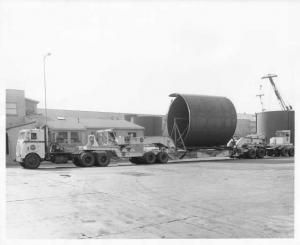 1968 Diamond REO COE Truck w/ Trailer Press Photo 0242 - Valencia Pipe Company