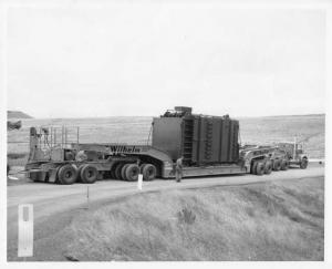 1960s Wilhelm Trucking with Oversize Load Press Photo 0014 - Portland OR