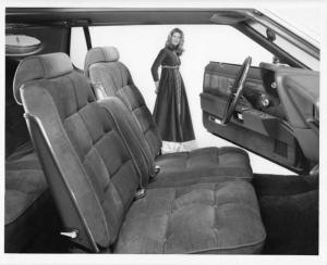 1973 Lincoln Continental Interior Press Photo 0062