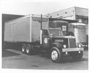 1952 Sterling Tractor Trailer Truck Press Photo 0053 - Western Truck Lines LTD