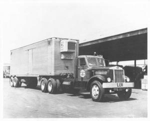 1952 Sterling Tractor Trailer Truck Press Photo 0054 - Western Truck Lines LTD