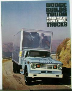 1965 Dodge Med Ton Conventional Truck D Series 400 to 700 Sale Brochure Dtd 3 65